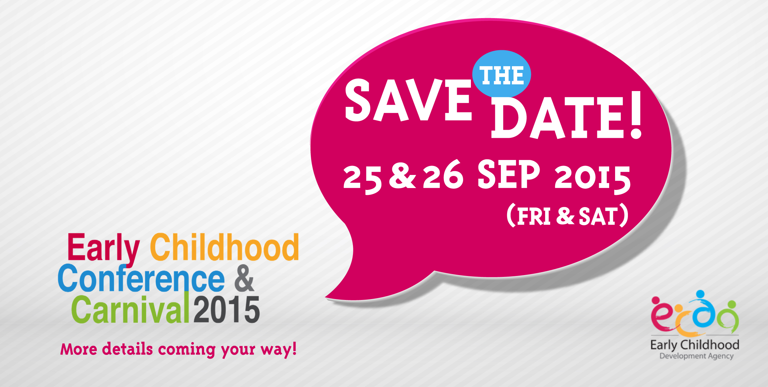 Early Childhood Conference and Carnival 2015 (ECCC2015)