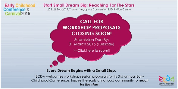 Call for Workshop Proposals for the Early Childhood Conference & Carnival 2015