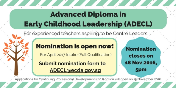 ADECL Nomination is open now!