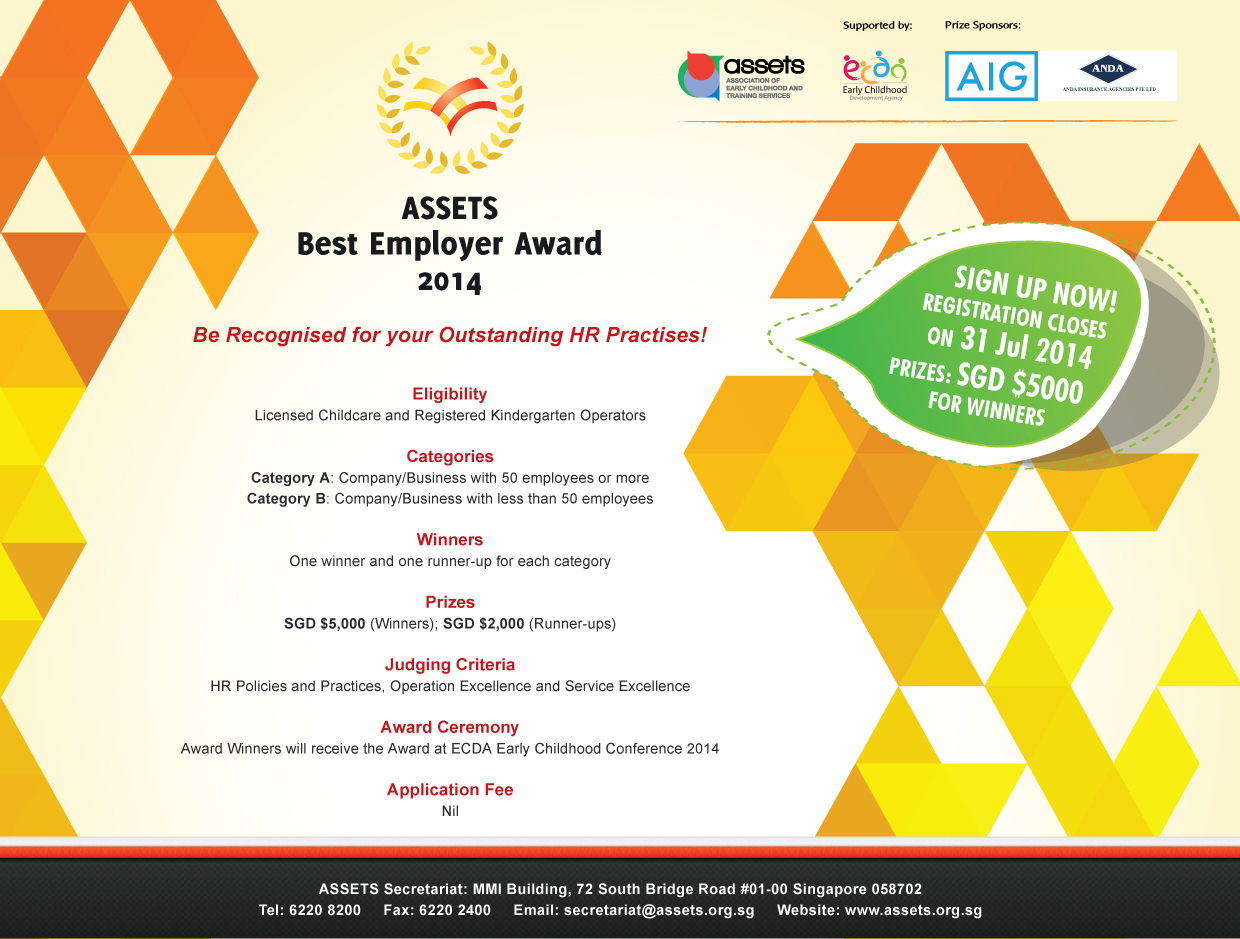 ASSETS Best Employer Award 2014