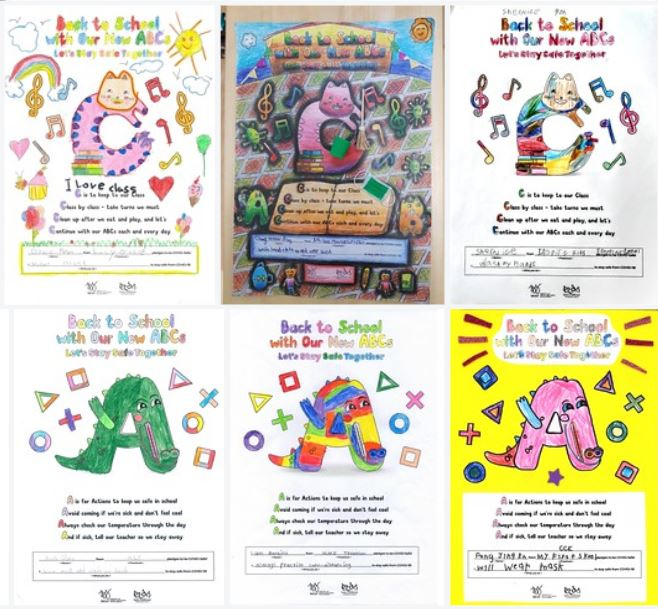 COVID-Safe ABCs Colouring Contest