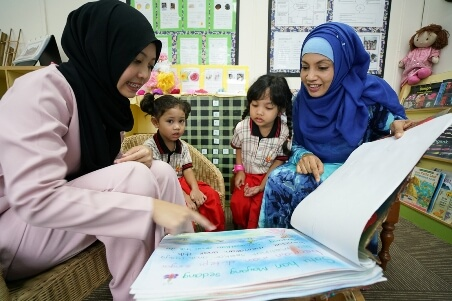 PPIS Bukit Batok strongly believes in involving parents in children's learning