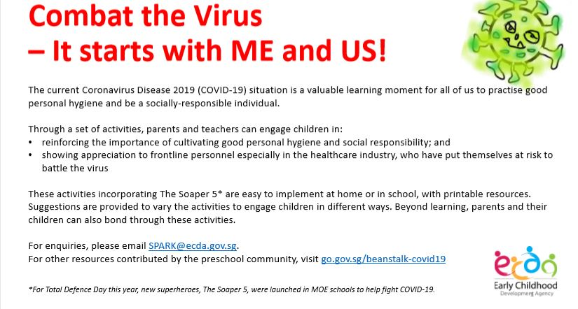 Combat the Virus – It starts with ME and US!