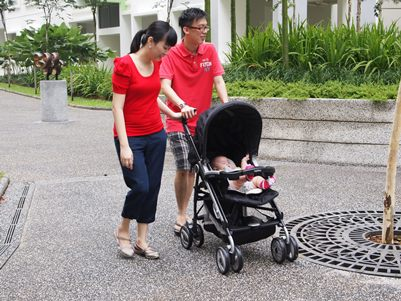 Go for a stroller walk!