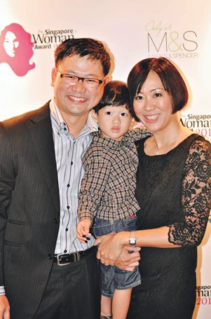 Emily Lim and family