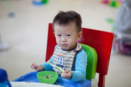 For older babies, more food variety can be introduced