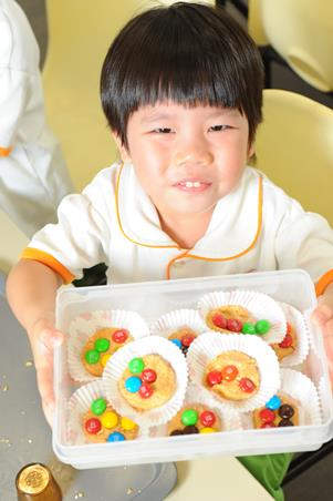 Create memories through baking with your child