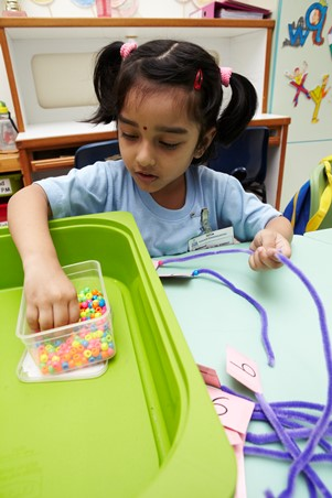 Develop fine motor skills through various activities